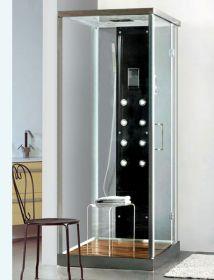 Душевая кабина Liberti Aurora 9901 black (100x80)