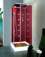 Душевая кабина Liberti Brilliant 6090 red (90x90)