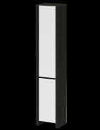 Шкаф-колонна напольный AM.PM Inspire S (белый-венге)