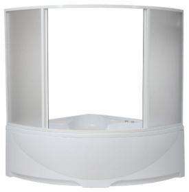 Шторка на ванну BAS Империал/Ирис (вотер) 150х150