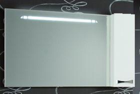 Зеркало-шкаф Акватон Диор 120 (белый)