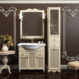 Комплект мебели для ванной Opadiris Тибет 75