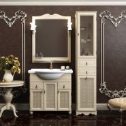 Комплект мебели для ванной Opadiris Тибет 85