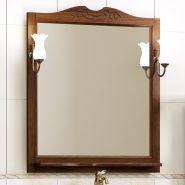 Зеркало с подсветкой Opadiris Клио 80 орех