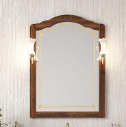 Зеркало с подсветкой Opadiris Лоренцо 80 светлый орех